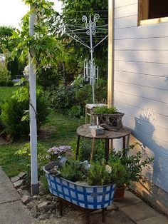 u morkusovic Fountain, Patio, Outdoor Decor, Home Decor, Decoration Home, Terrace, Room Decor, Water Well, Porch