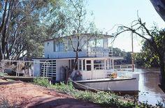 """c1980 """"Mayflower"""" Murray River Houseboat"""