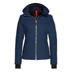 Bogner Fire + Ice Dory Womens Insulated Ski Jacket, Off White