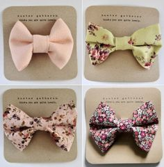 floral bow ties <3