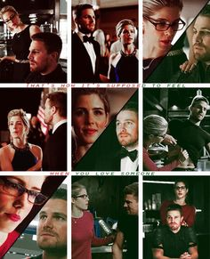 That's how it's supposed to feel when you love someone. #Olicity #Arrow