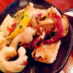 レシピとお料理がひらめくSnapDish - 3件のもぐもぐ - Grilled calamari by sg