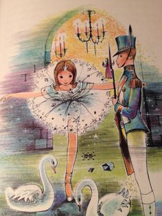 Hans Christian Andersen's The Steadfast Tin Soldier illustrated by Idellete Bordigoni (from volume #37 of BEST IN CHILDREN'S BOOKS)