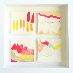Framed Minis by brittanybass on Etsy, $40.00