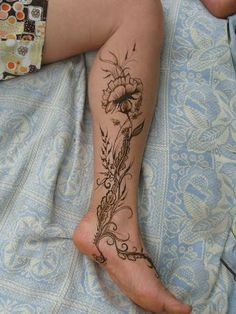 Ankle Tattoo: nice