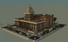 Isona Town Hall Minecraft Project