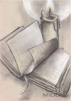 Project started III 2015 – Book – Książka – Keep up with the times. Girl Drawing Sketches, Pencil Sketch Drawing, Cool Art Drawings, Sketch Painting, Easy Drawings, Landscape Pencil Drawings, Pencil Drawings Of Flowers, Pencil Art Drawings, Pencil Drawing Inspiration