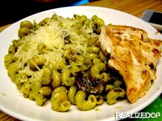 Noodles & Co. Pesto Cavatappi recipe - OMG I HAVE TO MAKE THIS