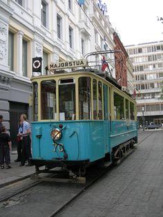 vintage streetcar!
