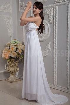 Unique White Chiffon Prom Dresses - Order Link: http://www.theweddingdresses.com/unique-white-chiffon-prom-dresses-twdn4950.html - Embellishments: Beading; Length: Floor Length; Fabric: Chiffon; Waist: Empire - Price: 171.575USD