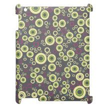 Vector ring patterns cover for the iPad 2 3 4