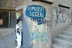 (O)PROSTI ŠEĆERU / Yoda zgužvani / Kosovke devojke #BeogradskiGrafiti #StreetArt #Graffiti #Beograd #Belgrade #Grafiti