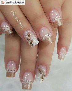 french nails classy Tips Cute Acrylic Nails, Cute Nails, Pretty Nails, My Nails, Elegant Nails, Classy Nails, Stylish Nails, French Nails, Nail Deco
