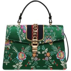Gucci Women Medium Sylvie Tokyo Print Top Handle Bag
