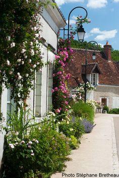 Le joli petit village de Chédigny et son festival de la rose