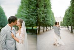 This is how the delphine manivet gowns look in real life... so romantic!