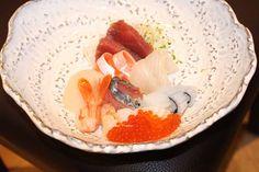 FUYU Sashimi Set at Itacho Sushi restaurant Jakarta.