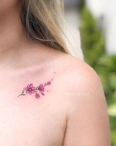 Girly Tattoos, Mini Tattoos, Little Tattoos, Pretty Tattoos, Rose Tattoos, Beautiful Tattoos, Flower Tattoos, Flower Tattoo Drawings, Body Art Tattoos