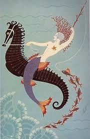 Erte mermaid