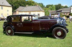 1930 Bentley 8-Litre Weymann Saloon by H. J. Mulliner