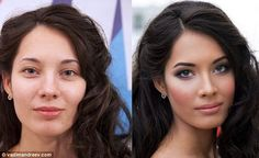 27 Photos That Demonstrate The Power Of Makeup. #5 Is Unreal