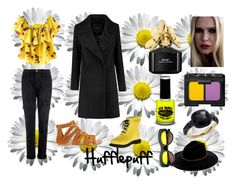 """Hufflepuff House"" by andrada-870 ❤ liked on Polyvore featuring Current/Elliott, Miss Selfridge, Ilse Jacobsen Hornbaek, Billabong, Revo, Pomellato, NARS Cosmetics, Marc Jacobs, PaintGlow and suchageek"