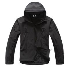 Waterproof and Windproof Soft Shell Jacket