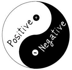 Postief zonder negatief bestaat niet. Ik probeer altijd me bewust te zijn van mijn eigen minder sterke eigenschappen. Dit zorgt ervoor dat ik sterkten in mezelf en andere mensen in mijn omgeving aantrek die mij kunnen aanvullen en daarmee versterken.  Alleen de balans tussen negatief en positief zorgt voor optimale sterkte.