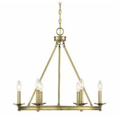 Buy the Savoy House Warm Brass Direct. Shop for the Savoy House Warm Brass Middleton 6 Light Wide Taper Candle Chandelier and save. Wagon Wheel Chandelier, Candle Chandelier, Candelabra Bulbs, Chandelier Lighting, Chandeliers, Kitchen Chandelier, Kitchen Lighting, Candle Rings, Modern Farmhouse Style