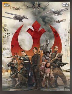 Star Wars: Rogue One - Revelados novos postêres individuais dos personagens! - Legião dos Heróis