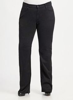 Hunter Z Aged Black Jeans