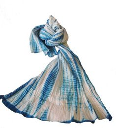 #fairtrade Shibori Scarf ~ My artist friend Barbara would adore this scarf.