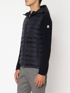 #moncler #jacket #padded #navy #sweater #hooded #man www.jofre.eu