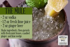 For great drinks and great food, check out the incredible Mule on the new In + On Bar Bites Menu at Bonefish Grill.