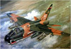 A-7D Corsair II of the 354th TFW Vietnam,1972 Operation Linebacker and Linebacker II