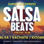 SALSA BEATS  UND WEIL IHR DANACH VERLANGT HABT!!!!! LATINRITMO präsentiert:  SALSABEATS  Dance to Express  Die heisseste Salsaparty in München!! Mit DJ Mel Mori und DJ Esteban Wir freuen uns sehr euch die beste SALSA-HITS zu präsentieren. Von Salsa Dura Mambo Guaguancó Cha-Cha bis Salsa Romanticá  für jeden Geschmack ist was dabei! Natürlich dürfen []  Mehr Salsa Bachata Kizomba Informationen auf salsastisch.de.