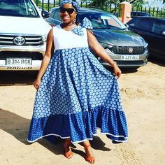 Spiffy Fashion Simple shweshwe dresses we love It - African Attire, African Wear, African Women, Latest African Fashion Dresses, African Print Fashion, African Dress Patterns, African Fashion Traditional, Seshweshwe Dresses, Womens Liberation