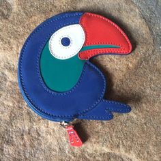 2xHostPick Ltd Ed. Patent Leather Toucan CoinPurse Host pick! 🌈 NWOT. Adorable. Zipper works perfectly. No wear or damage. 4.75x4.5. No dust bag. No trades. No public offers please. Coach Bags Wallets