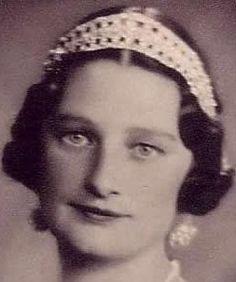Tiara Mania: Diamond Bandeau Tiara worn by Queen Astrid of the Belgians
