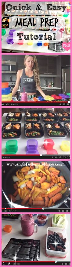 Meal Prep ALL your meals for the week in one day! Quick, Easy, Healthy, and Delicious! CLICK the pin to see the tutorial video, and get all the details about this program :-) #mealprep #21df #cleaneating