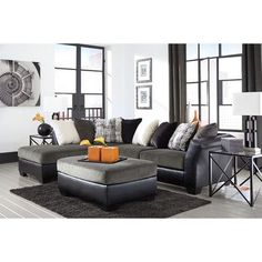 Signature Design by Ashley Armant Sectional & Reviews | Wayfair