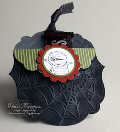 Stampin' Up! Cute Halloween Treat Pouches!!