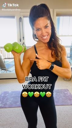 Fitness Workouts, Gym Workout Videos, Gym Workout For Beginners, Fitness Workout For Women, At Home Workouts, Chest Workouts, Body Workouts, Bra Fat Workout, Arm Pit Fat Workout