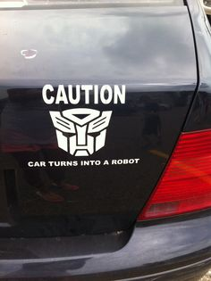 Transformers! I really should get this for Bee
