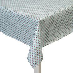Nappes tissu toile cirée avec revêtement coton patchwork bonbons