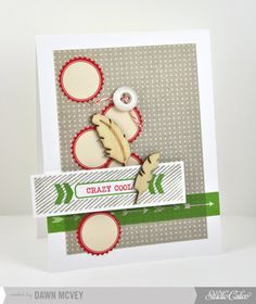 Crazy Cool by Dawn McVey at Studio Calico using our Sock Hop card kit only