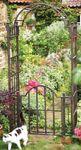 Extra Heavy Duty Garden Arch with Gate (Mackintosh)