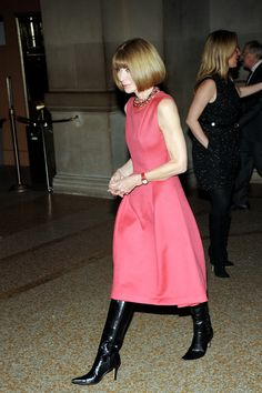 'In Vogue: The Editor's Eye' Screens in New York - Anna Wintour