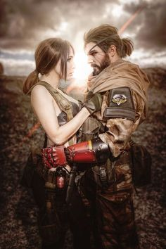 This 'Metal Gear Solid V' Cosplay Includes An Actual Wolf
