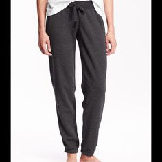 Athleisure Grey Sweatpants Athleisure is the new trend. So grab these comfy sweatpants and style them up. Old Navy Pants Track Pants & Joggers